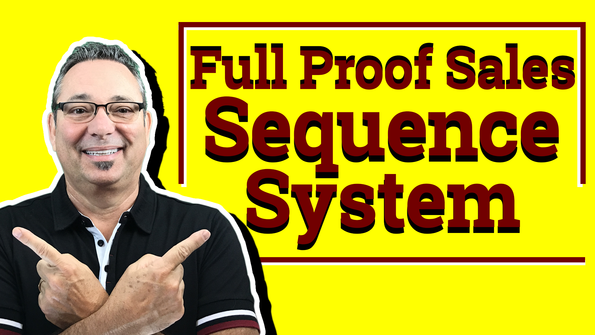 Full proof sales sequence system