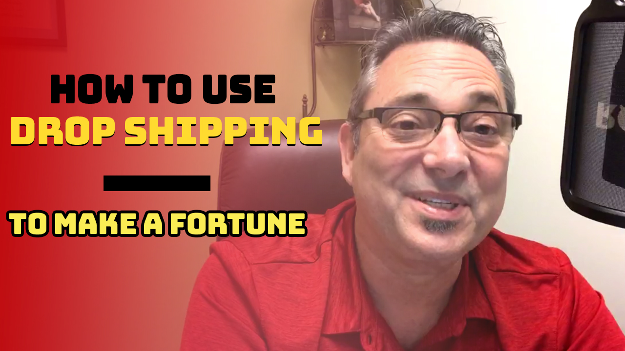 How to use drop shipping to make a fortune