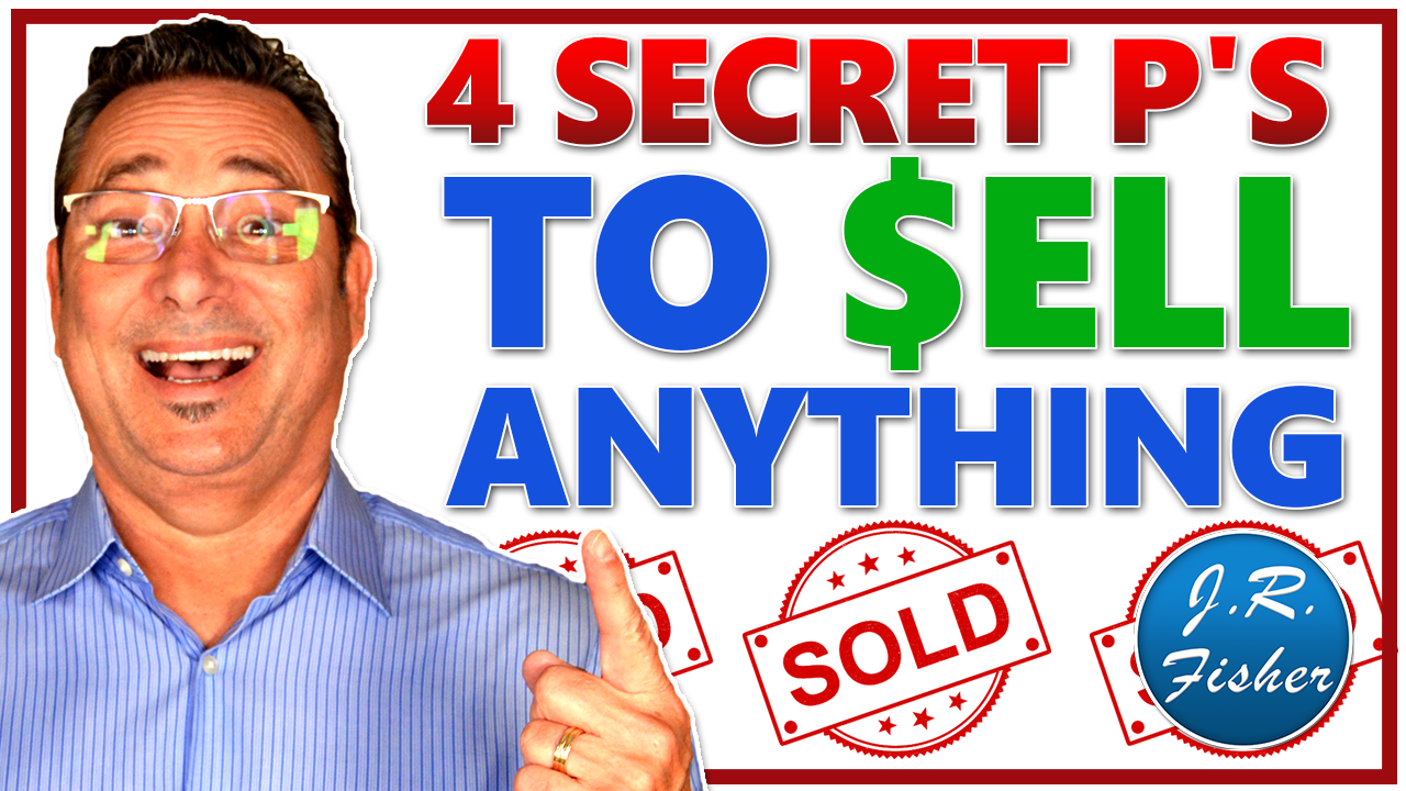 Sell anything to anyone using the 4 P's method
