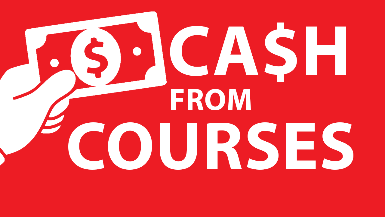 Money With Courses - How to make money with no talent required