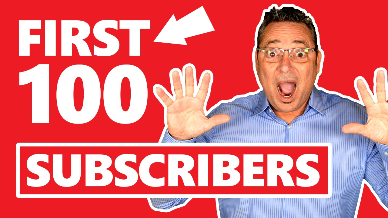 YouTube Subscribers | How to get your first 100 YouTube Subscribers