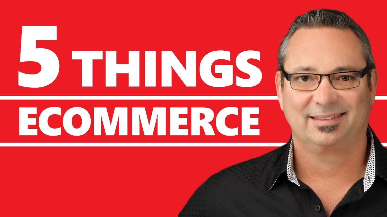 eCommerce - 5 things to know before you start an eCommerce business