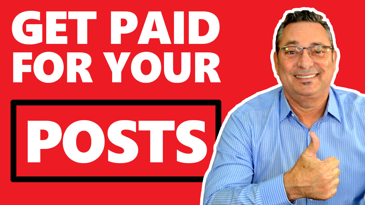 Social Media Marketing - How to get paid for your social media posts