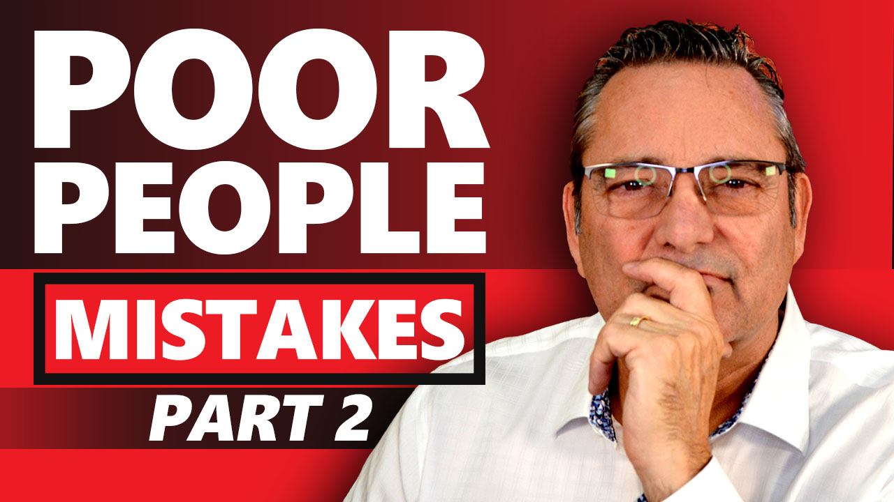Poor person messes this up - What poor people do and rich people don't