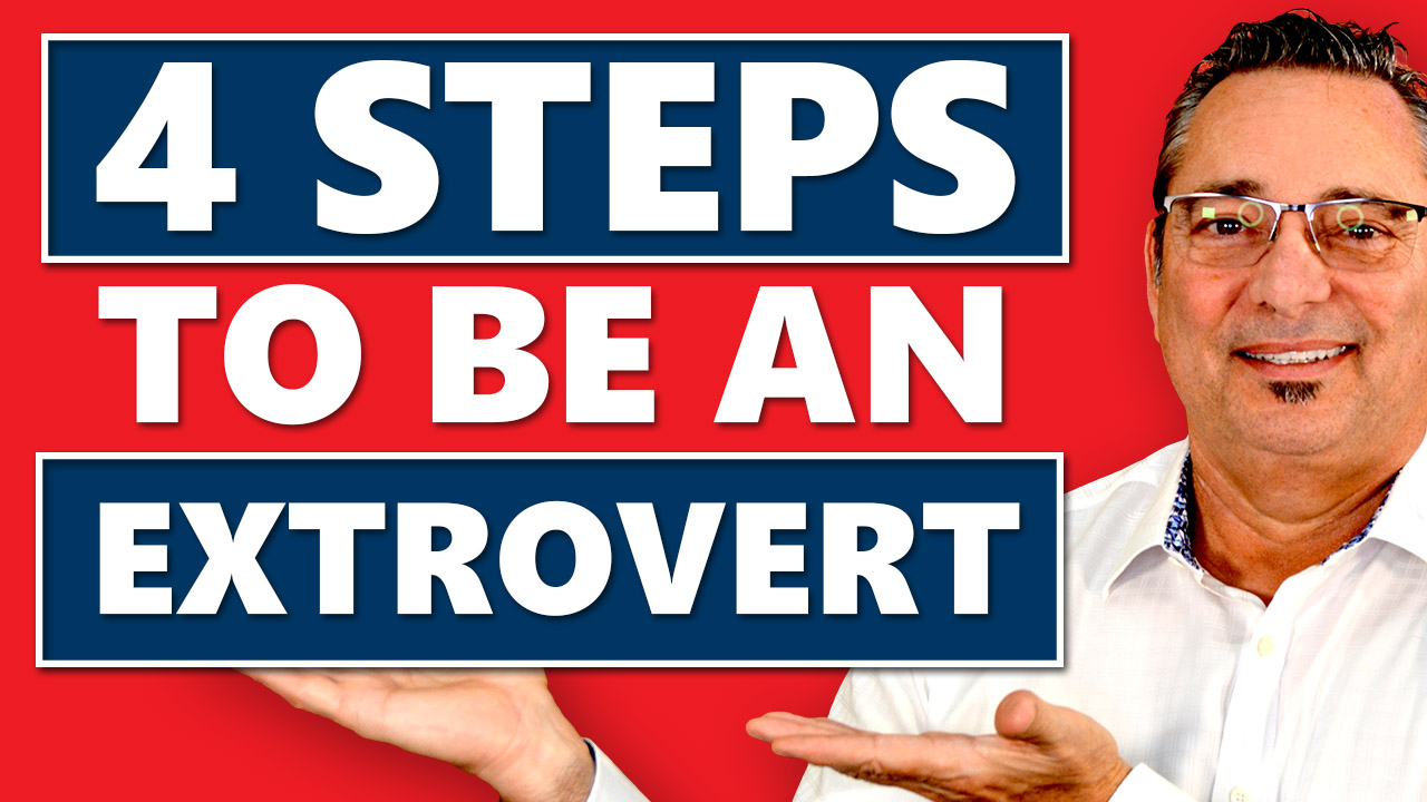 Identify shyness - How to become an extrovert in 4 simple steps