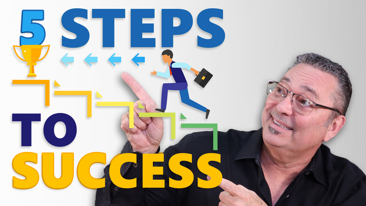 5 Steps To Success - The no hassle (5 step) method to succeeding online
