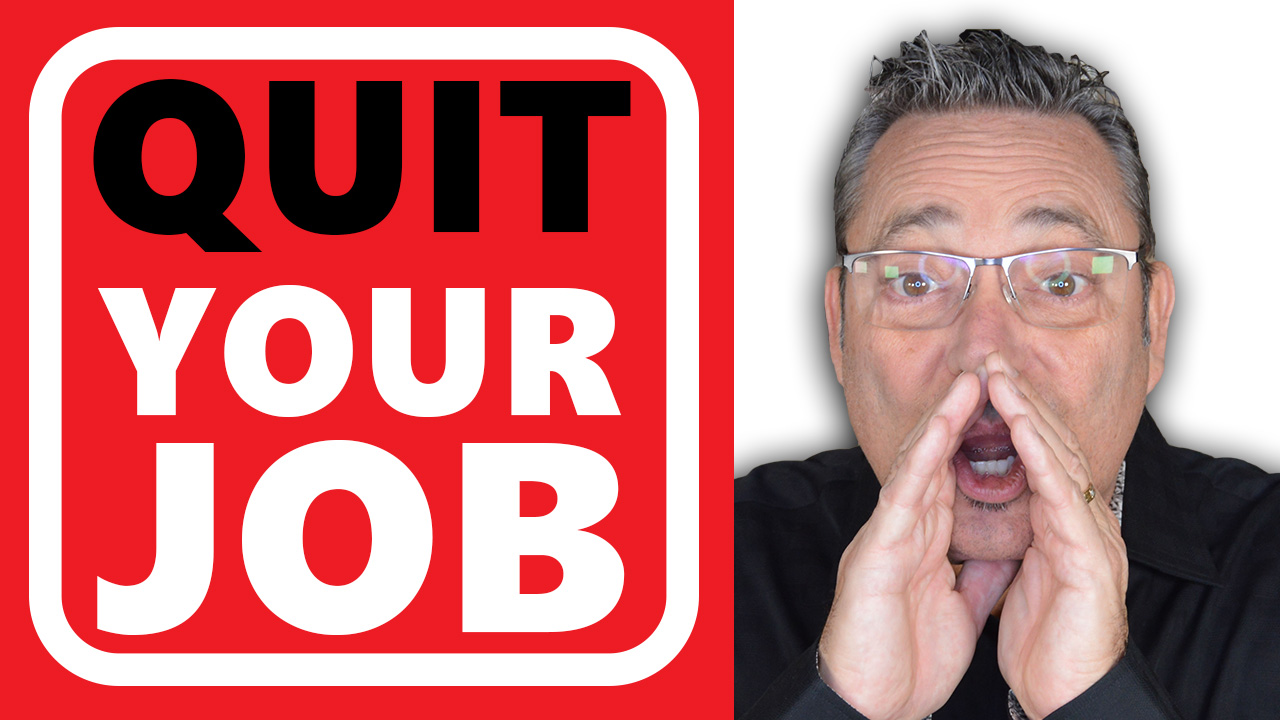 Quit Your Job - How to quit your job and work from home in 5 easy steps