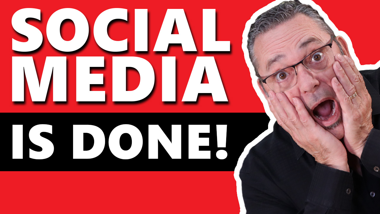Social media is done (Why you need a website and email list)