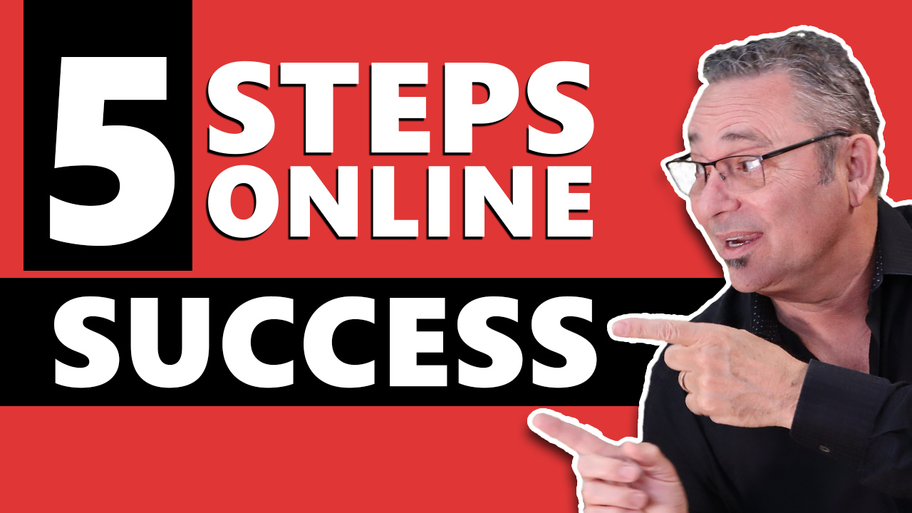 5 Simple Steps - How to start a successful online business