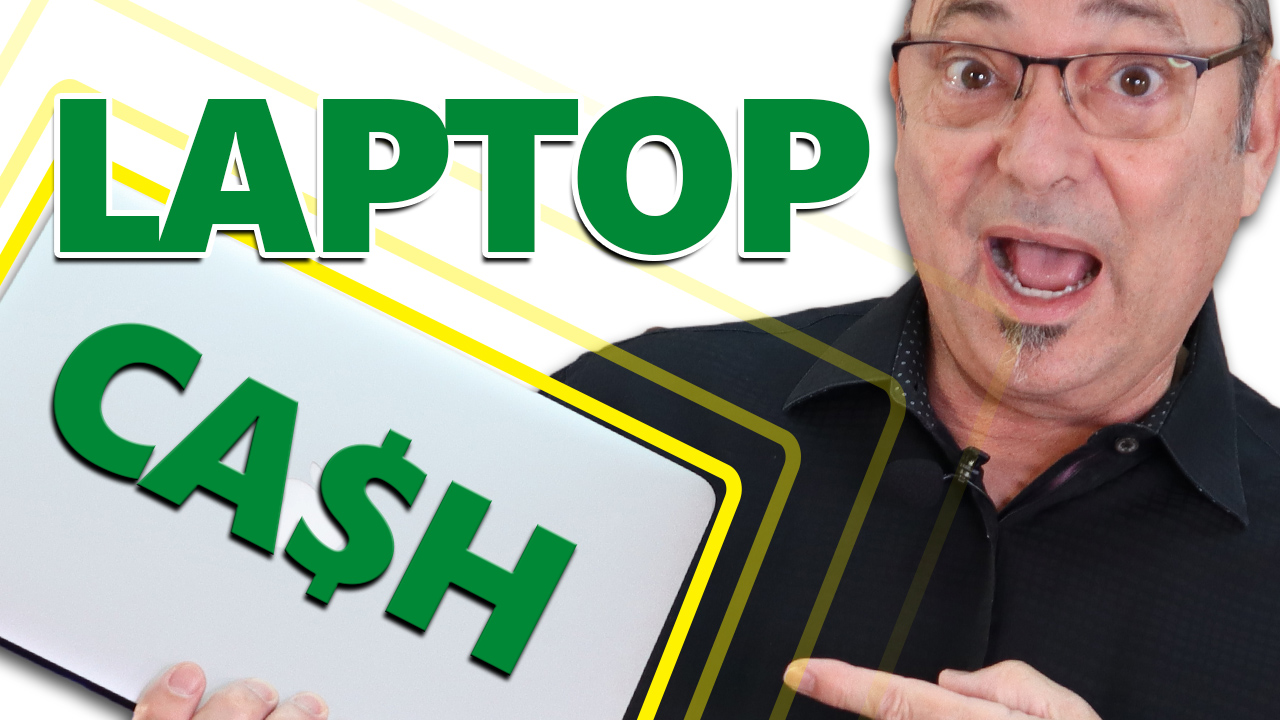 Laptop - 8 ways to make cash from your laptop (work from home ideas)