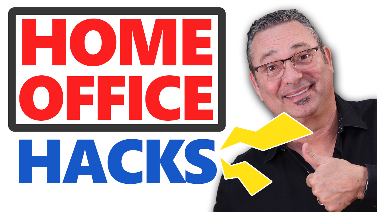 Home office hacks for the new entrepreneur (save time and money)