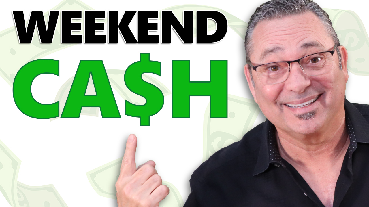 How to use the weekends to make money in a side business